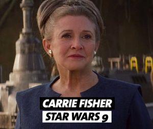 Carrie Fisher est morte pendant le tournage de la saga Star Wars