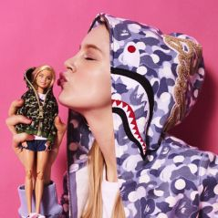BAPE x Barbie : la poupée se la joue street et girly