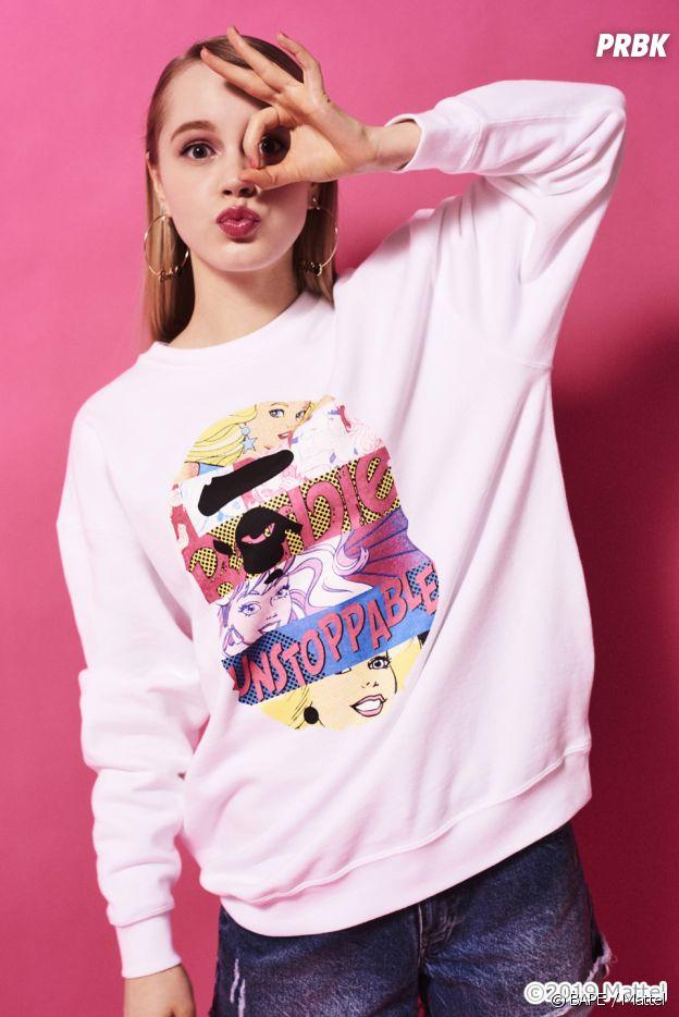 BAPE x Barbie : la collection street et girly pour être assortie à ta poupée