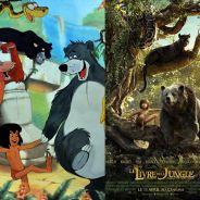 Le livre de la jungle : les personnages dans le dessin-animé VS dans le film