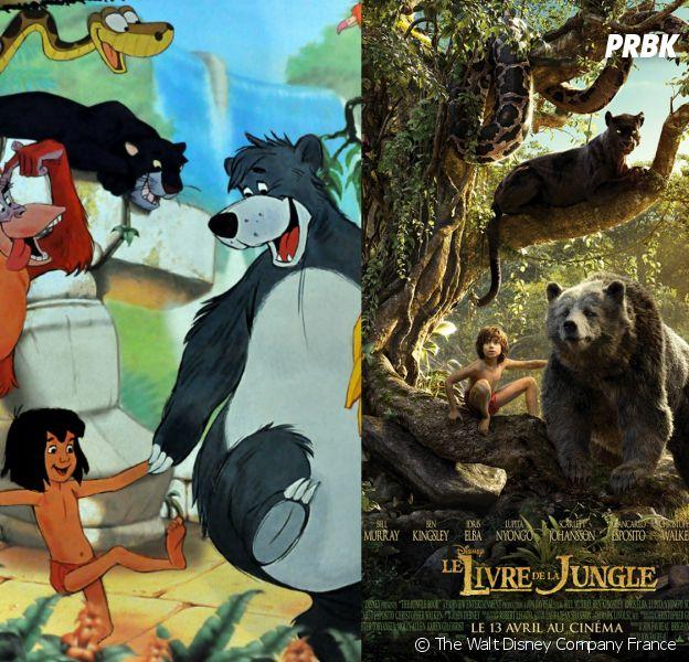 Le Livre De La Jungle Les Personnages Dans Le Dessin Anime