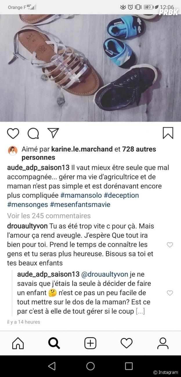 Aude (L'amour est dans le pré 2018) séparée de Christopher, l'annonce choc !