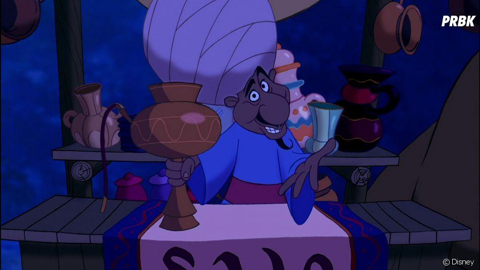 Aladdin : La scène d'ouvertude dans le dessin-animé