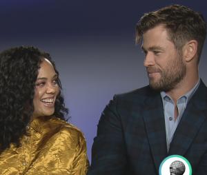 Men in Black International : l'interro surprise de Chris Hemsworth et Tessa Thompson