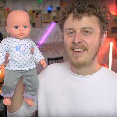 Norman Thavaud papa fatigué mais aux anges : il révèle le sexe de son bébé en vidéo