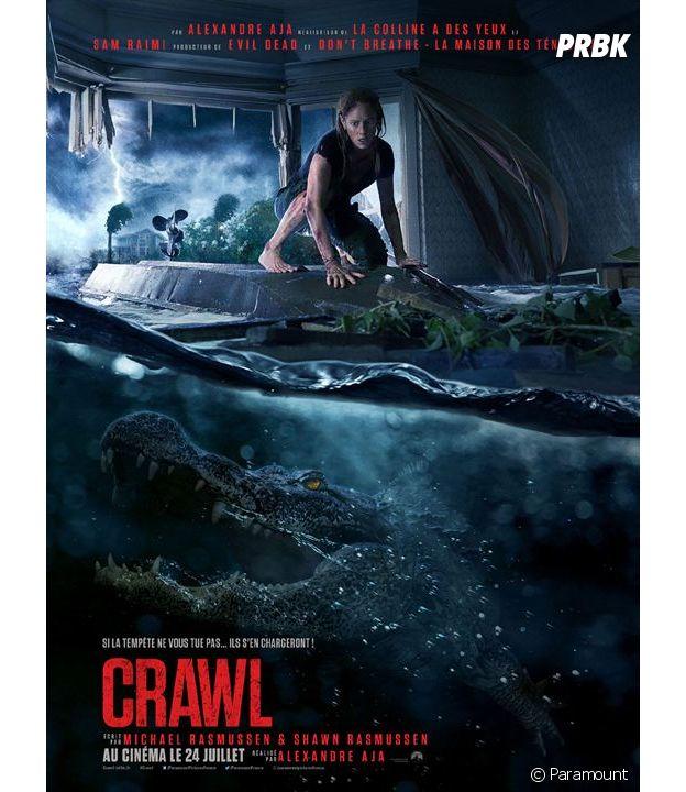 Crawl d'Alexandre Aja au cinéma le 24 juillet.