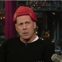 Bruce Willis ... Un hommage moqueur à Lady Gaga