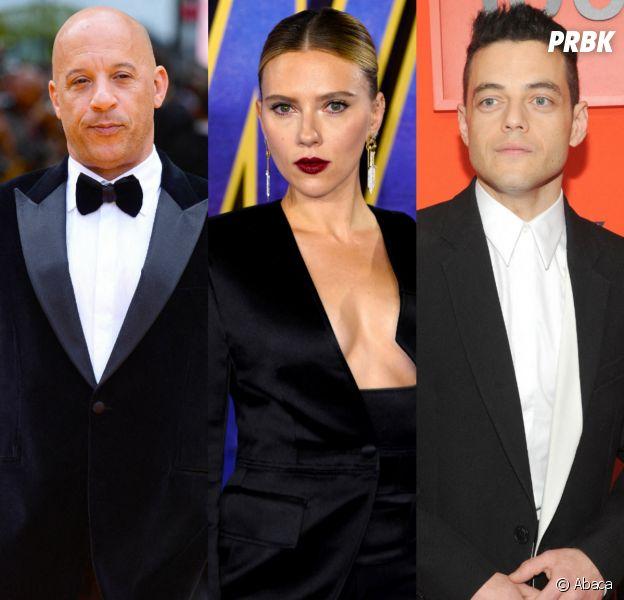 Vin Diesel, Scarlett Johansson, Rami Malek... Ces stars qui ont des jumeaux et vous ne le saviez peut-être pas