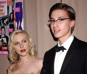 Scarlett Johansson et son frère jumeau Hunter Johansson