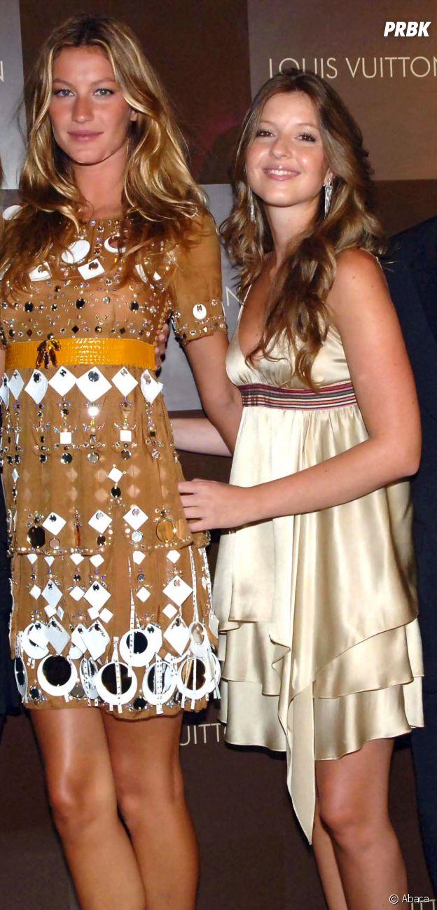 Gisele Bündchen et sa soeur jumelle Patricia Bündchen