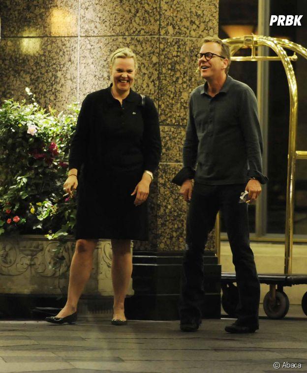 Kiefer Sutherland et sa soeur jumelle Rachel Sutherland