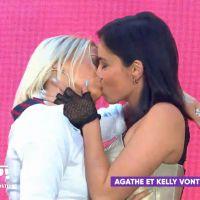 Agathe Auproux et Kelly Vedovelli réconciliées ? Leur baiser langoureux dans TPMP enflamme la Toile