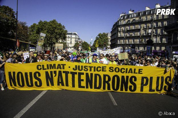 A Paris s'est déroulée la marche pour le climat ce samedi 21 septembre 2019