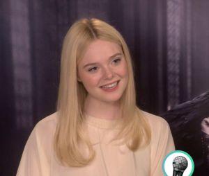 """Elle Fanning : son interview """"vrai ou faux"""" pour Purebreak pour la sortie de Maléfique 2 au cinéma"""