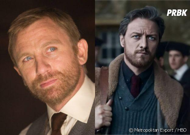 A la croisée des mondes : Lord Asriel joué par Daniel Craig et James McAvoy