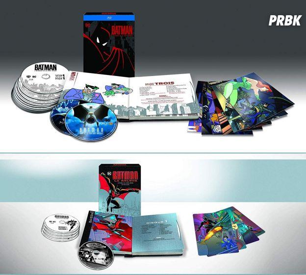 Batman la série animée / Batman La relève, éditions deluxe (Blu-ray)