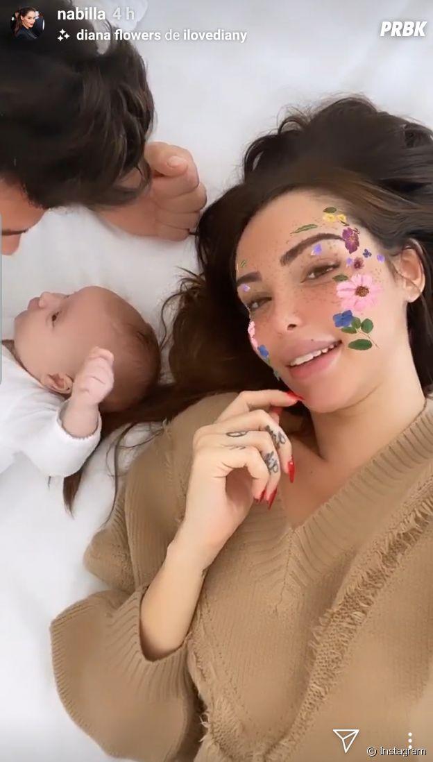Nabilla Benattia maman : la femme de Thomas Vergara dévoile enfin le visage de leur fils Milann