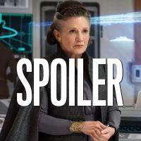 Star Wars 9 : Billie Lourd, la fille de Carrie Fisher, a joué Leia pour une scène