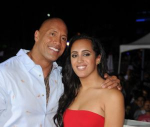 Dwayne Johnson et sa fille Simone