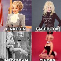 Linkedin, Facebook, Instagram, Tinder : le #DollyPartonChallenge devient viral, les stars adorent