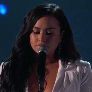 Demi Lovato en larmes pour son grand retour sur scène aux Grammy Awards 2020
