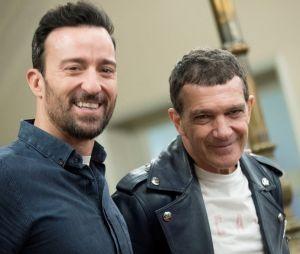 Pablo Puyol et Antonio Banderas