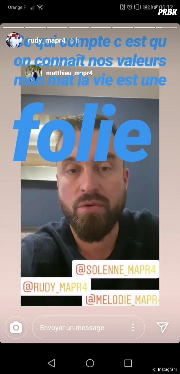 Solenne (Mariés au premier regard 2020), Mélodie et Rudy critiqués, Matthieu répond aux haters