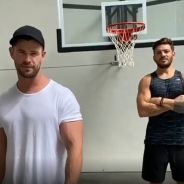 Chris Hemsworth (Thor) dévoile son entraînement à la maison pour se muscler durant le confinement
