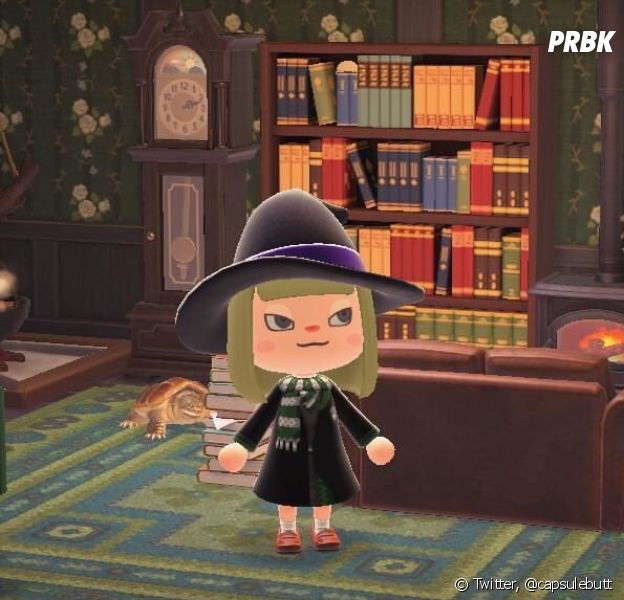 Animal Crossing : New Horizons en mode Harry Potter : une internaute a construit un décor de ouf dans le jeu