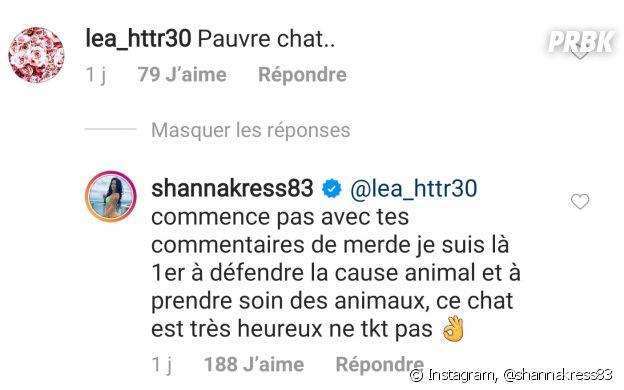 Shanna Kress accusée de maltraitance animale : elle réagit à la vidéo polémique