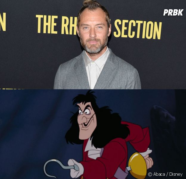 Peter Pan : Jude Law en Capitaine Crochet pour le remake