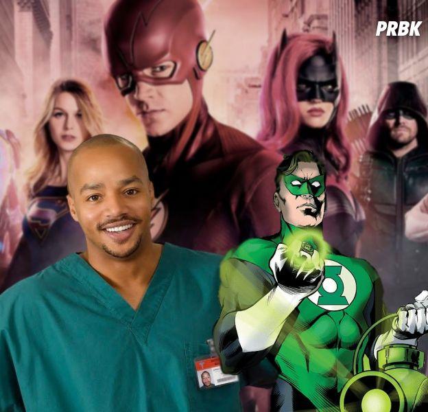 Green Lantern : Donald Faison en super-héros dans le Arrowverse ?