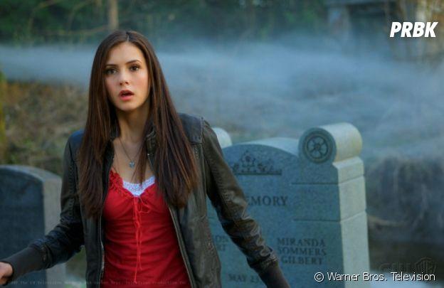 Nina Dobrev - 21 ans dans la saison 1 de The Vampire Diaries