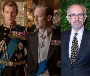 The Crown : Matt Smith et Tobias Menzies dans le rôle du Prince Philip et leur remplaçant Jonathan Pryce