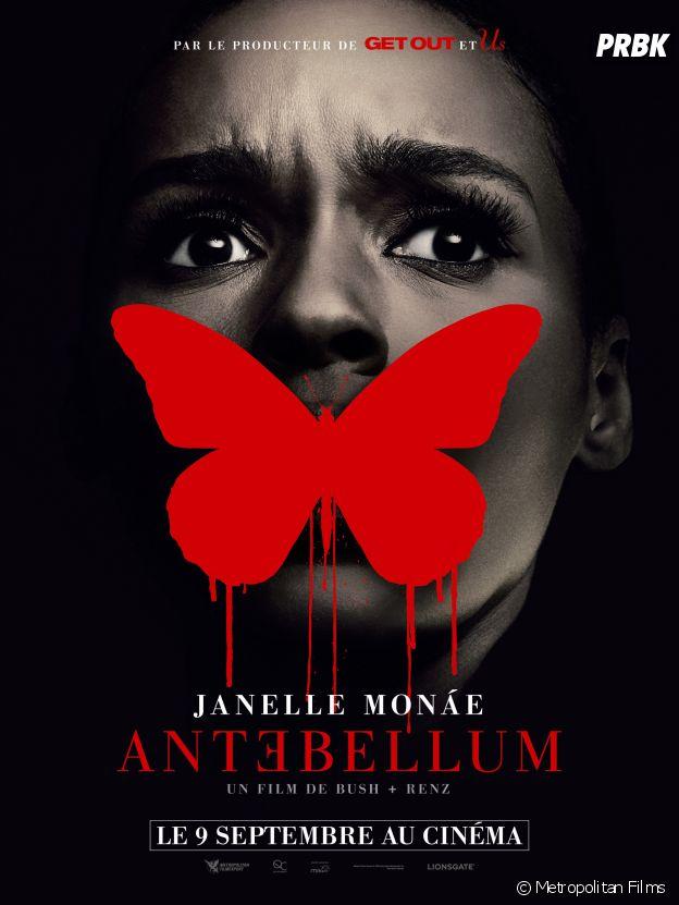 L'affiche d'Antebellum au cinéma le 9 septembre.