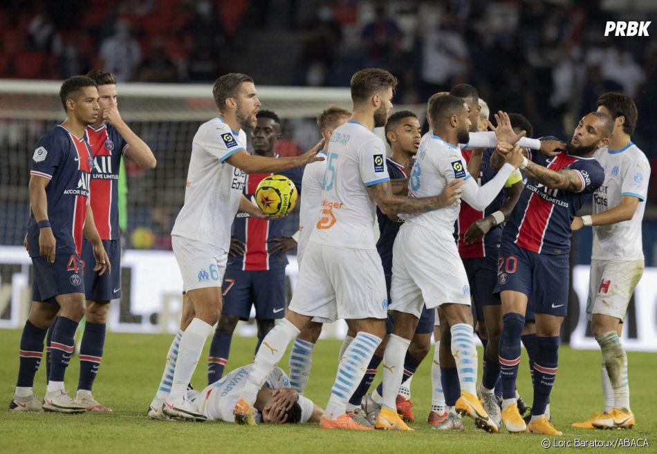 PSG-OM : les joueurs se sont battus