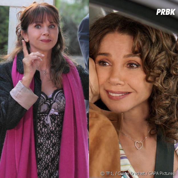 Caroline (Victoria Abril) avant-après