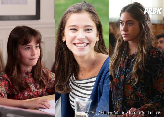 Salomé avant-après (Jade Pradin, Léa Lopez et Joséphine Berry)