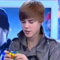 Justin Bieber ... 1 min 30 pour résoudre un Rubik's Cube