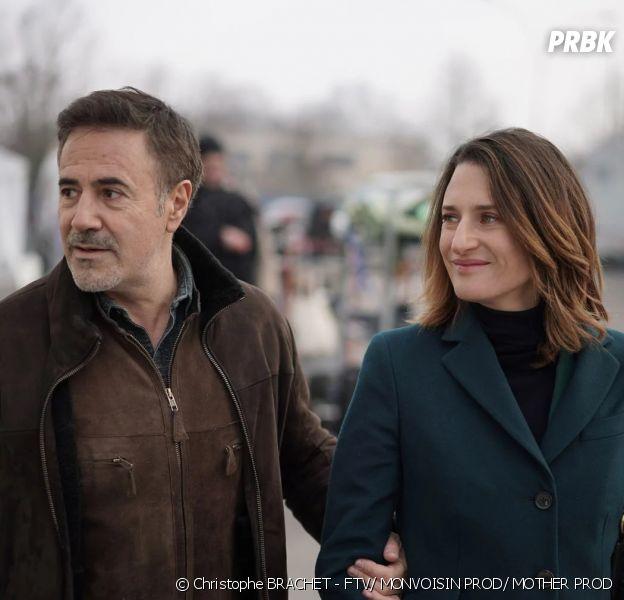 Dix pour cent saison 4 : José Garcia et Camille Cottin