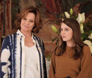 Sigourney Weaver et Fanny Sidney dans la saison 4 de Dix pour cent