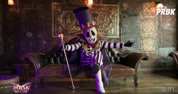 Mask Singer 2 : quelle célébrité est le squelette ? Les indices sur son identité