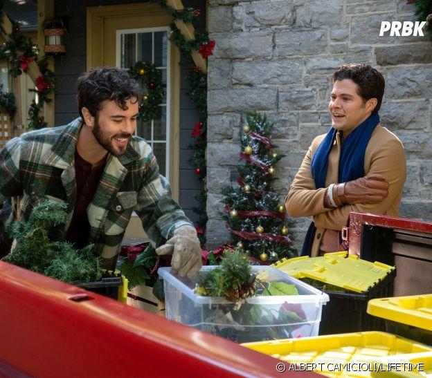 The Christmas Setup avec Ben Lewis et Blake Lee, mariés dans la vraie vie