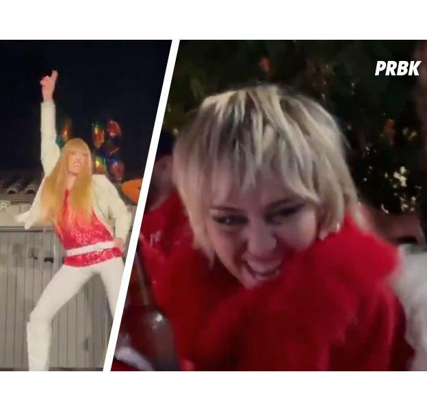 Miley Cyrus a fêté son anniversaire avec... Hannah Montana
