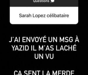 Sarah Lopez (Les Anges 12) séparée d'Yazid Ichemrahen à cause de son ex Jonathan Matijas ? Sa réponse parfaite à la fausse rumeur