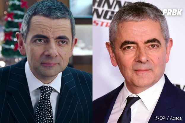 Rowan Atkinson dans Love Actually vs en 2020