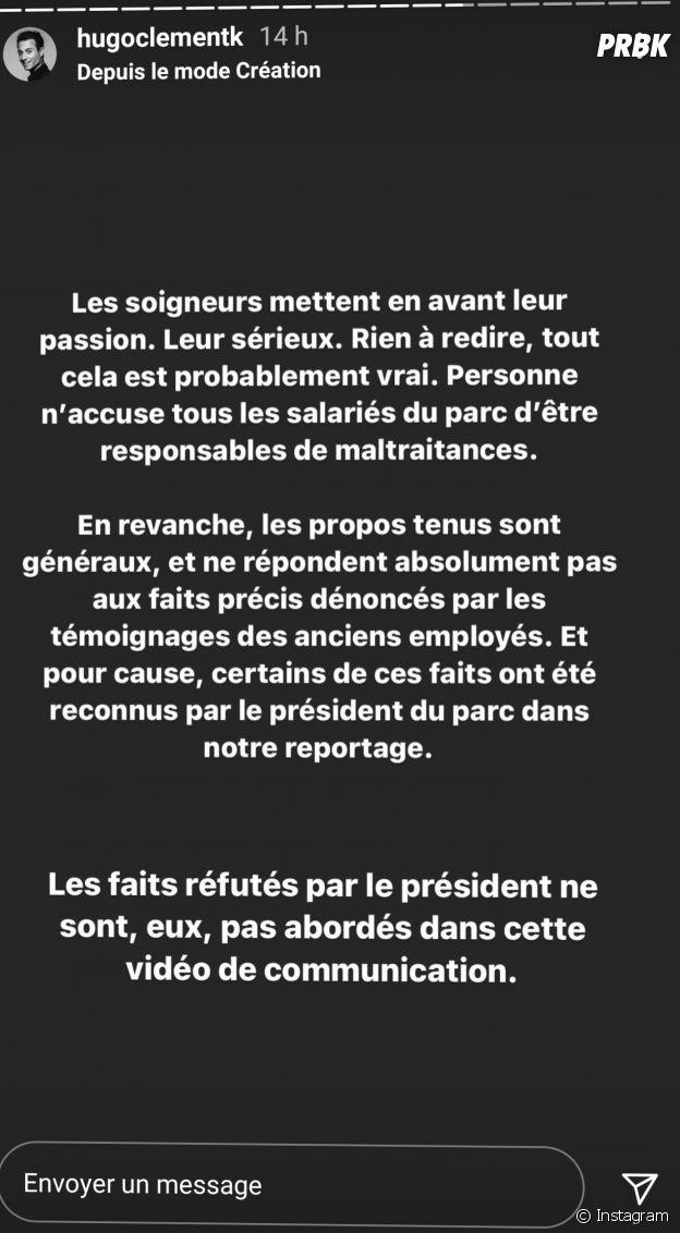 Puy du Fou : 4 anciens employés accusent le parc d'attractions de violences animales dans un reportage signé Hugo Clément, le président du parc réagit