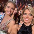 Amandine Petit (Miss France 2021) et Syvie Tellier