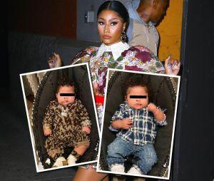 Nicki Minaj dévoile les premières photos de son fils, tous les Internautes sous le charme