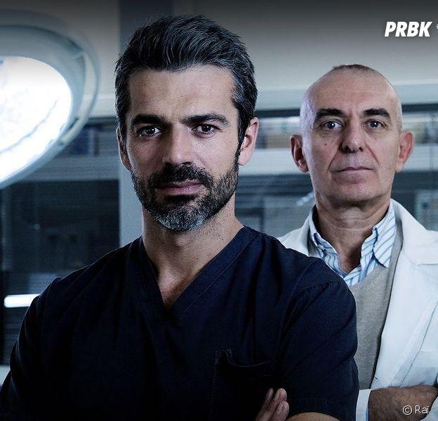 Doc : Luca Argentero et Pierdante Piccioni dont l'histoire a inspiré la série italienne